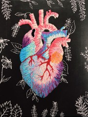 Image of Heart Canvas