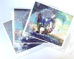 Image of Superhero Print