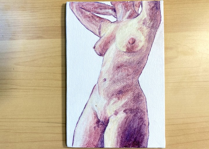 Image of Figure painting 1