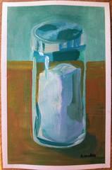 Image of Still Life of Salt Shaker original painting