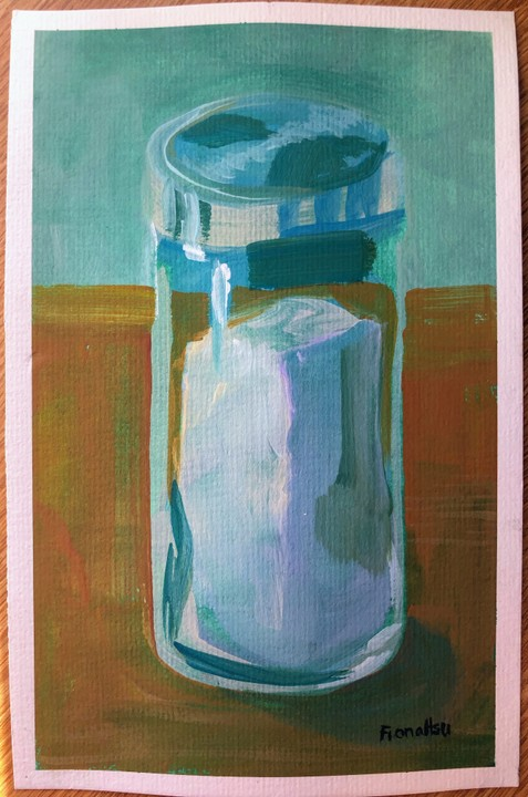 Image of Still Life of Salt Shaker original painting