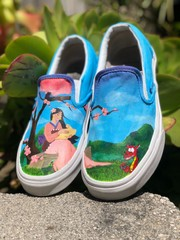 Image of Custom Shoes - Detailed