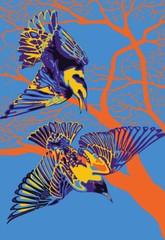 Image of Starlings Print