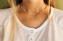 Image of Beaded Choker Necklaces