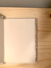 """Image of """"Be Happy"""" Hand-Bound Book"""