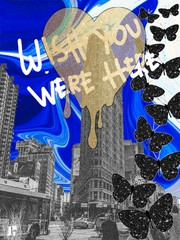 Image of Wish you were here 11x14, 16x20 or 18x24