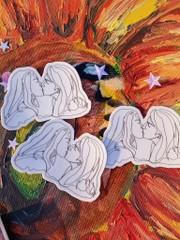 Image of Girls Love Girls Stickers