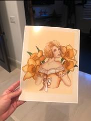 "Image of ""Daffodil"" Print"