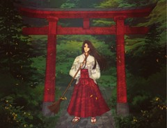 "Image of ""Shrine Maiden"" Print"