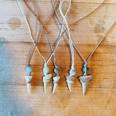 Image of Shark Tooth Necklaces