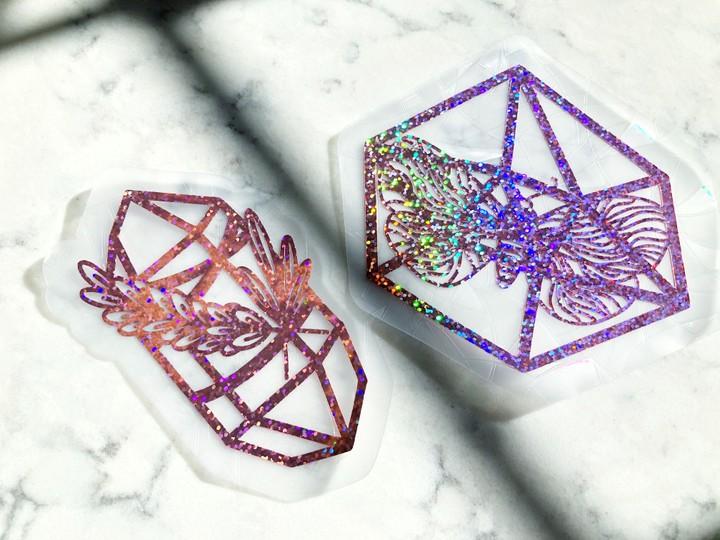 Image of Witchy Crystal Suncatchers