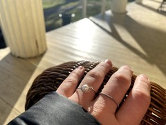 Image of Guitar String Ring (Silver)
