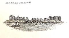 Image of Boston Esplanade Architectural Drawing