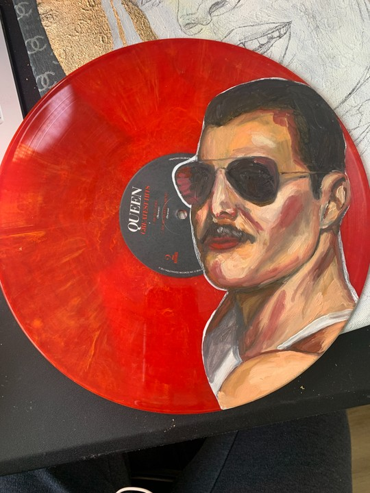 Image of Freddie Mercury Vinyl No. 1