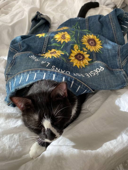 Image of Sunflower Denim Jacket