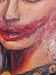 Image of Kim Petras Record Painting