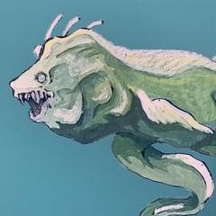 Image of Eel Monster Print