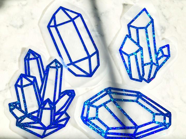 Image of Crystal Suncatchers