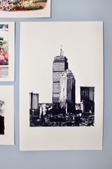 Image of I Think I'll Go to Boston (Art Print)