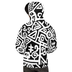 Image of Original Black & White Graphic Hoodie