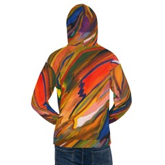 Image of Abstract Paint Swirl Hoodie