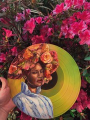 Image of Beyonce Record Painting