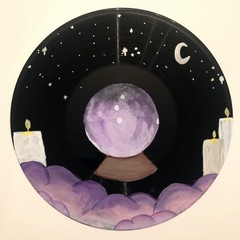 Image of Crystal Ball Painted Vinyl