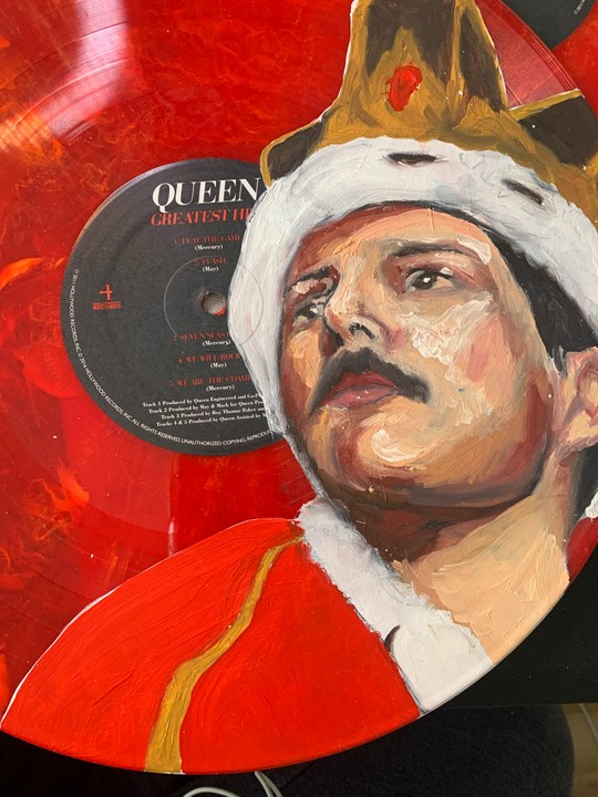 Image of Freddie Mercury Vinyl No. 2