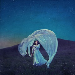 Image of Moon Dance giclee print