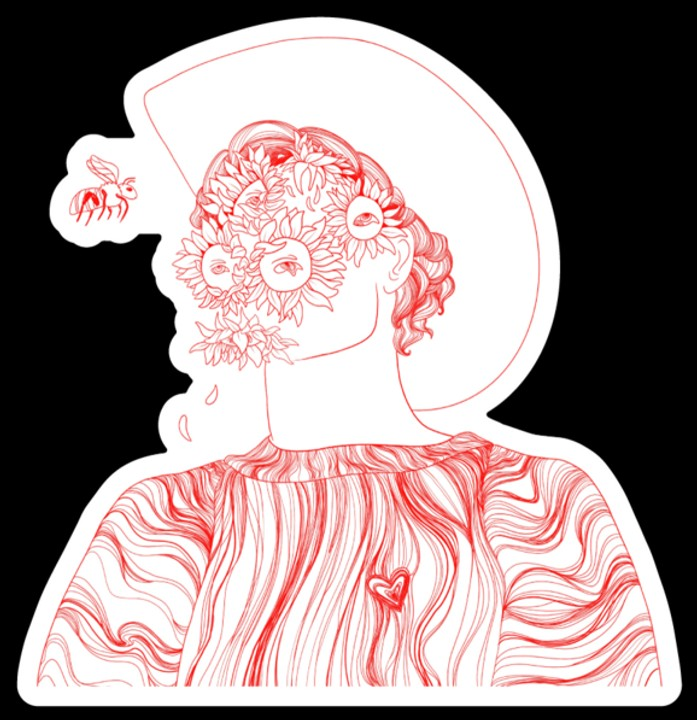 Image of Flower Boy Sticker