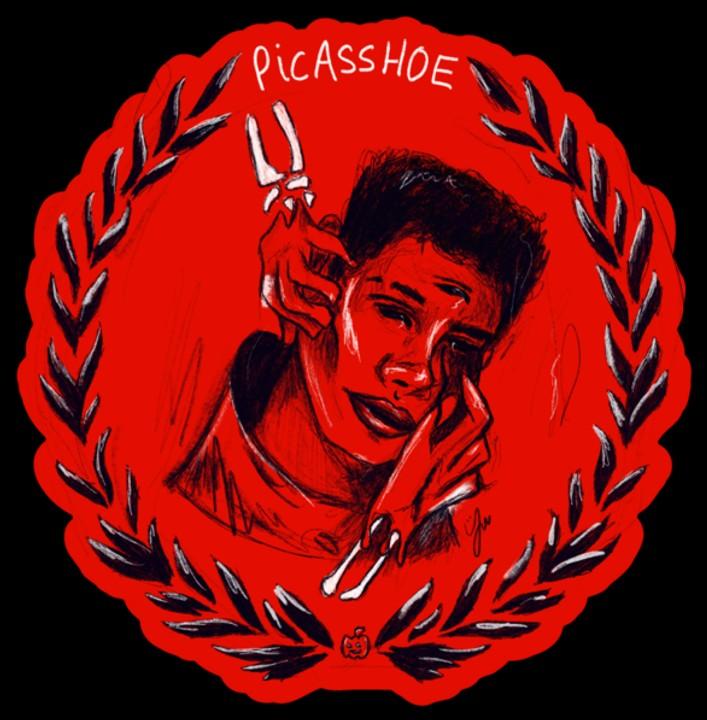 Image of Blood Moon Sticker