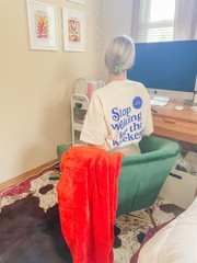 Image of Stop Waiting Tee- Large