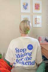 Image of Stop Waiting Tee- Small