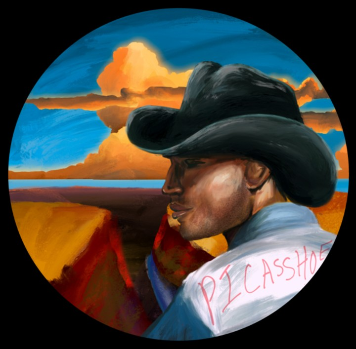 Image of Cowboy Sticker