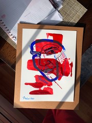 Image of Abstracted One Line Portraits