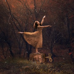 Image of Abandonment of a Rigid Dancer giclee print