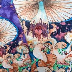 Image of Mushroom Monster Print