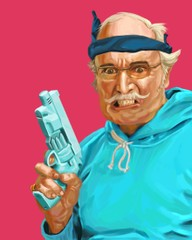 Image of Man with gun