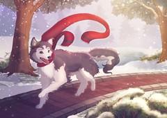 "Image of ""Husky"" Print"