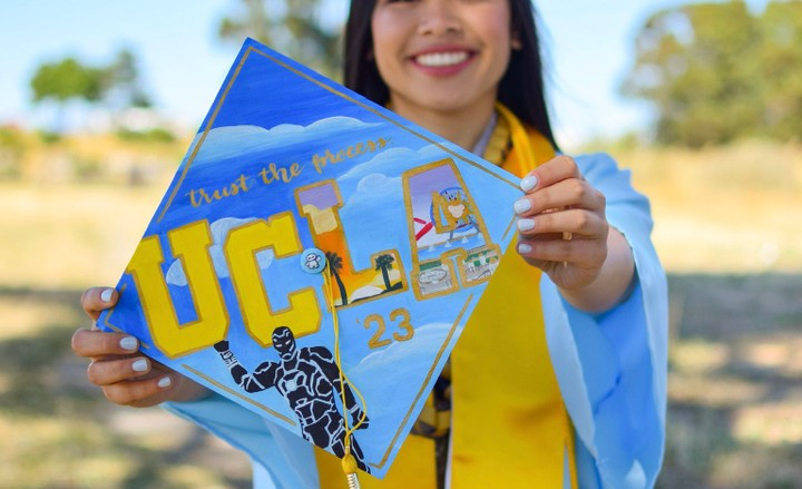 Image of Custom Grad Cap Designs