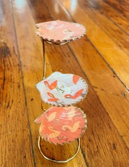 Image of Flamingo Shell Ring Stand