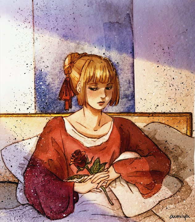 "Image of ""Rose Morning"" Print"
