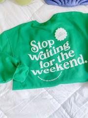 Image of Stop Waiting Crew- XL