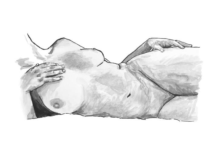 Image of Nude Art Print 2