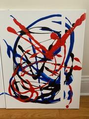"Image of ""Kachow"" 2 Piece Acrylic Canvas Art"