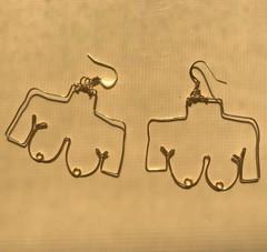 Image of Boob Earrings