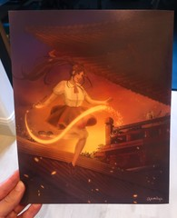 "Image of ""Sunset Painter"" Print"