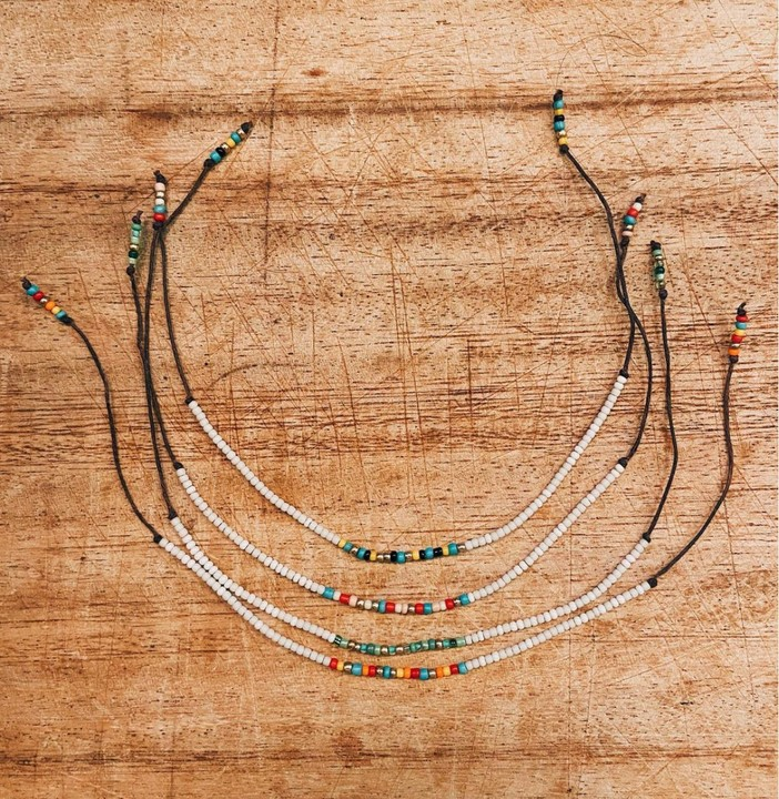 Image of Beaded Anklet/Bracelets