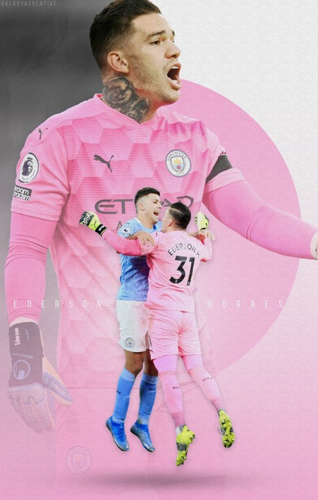 Image of Ederson Moraes Poster