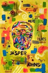 Image of Jasper Johns (archival art print)